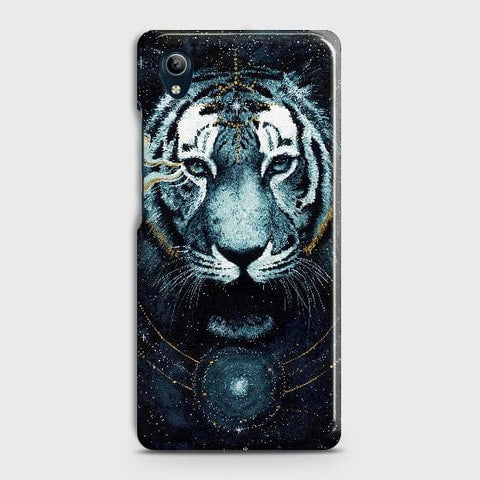 Vintage Galaxy 3D Tiger Case For vivo Y91C