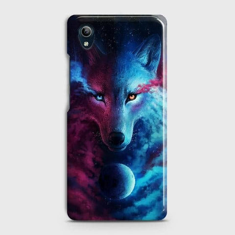 vivo Y91C Cover - Infinity Wolf Trendy Printed Hard Case with Life Time Colors Guarantee