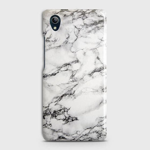 Trendy White Floor Marble Case For vivo Y91C