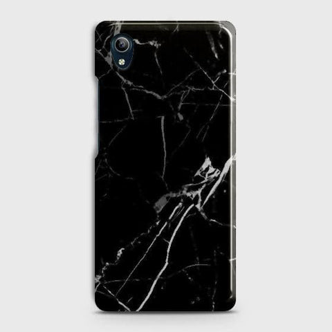 Black Modern Classic Marble Case For vivo Y91C