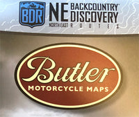 Butler Motorcycle Maps