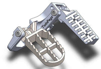 TwinPegs Ergonomic Foot Pegs