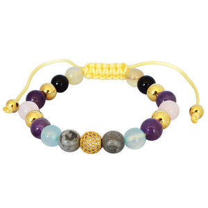 Flirt Gemstone Bracelet-AllEthical.com - The Vegan Shop