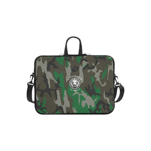 "Apple Mac Book Air 11"" Laptop Carry Bag NFA The Original Green Camo-AllEthical.com - The Vegan Shop"