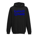 Kids Hoodie Blue Individual Anarchism-AllEthical.com - The Vegan Shop