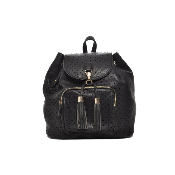 Mechaly Women's Jamie Black Vegan Leather Backpack-AllEthical.com - The Vegan Shop