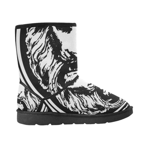 Lion Snow Boots High Top-AllEthical.com - The Vegan Shop