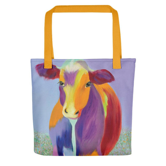 Dotty Cow Tote bag-AllEthical.com - The Vegan Shop
