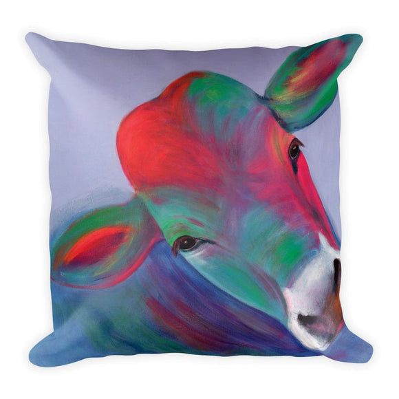 Cow Square Pillow-AllEthical.com - The Vegan Shop