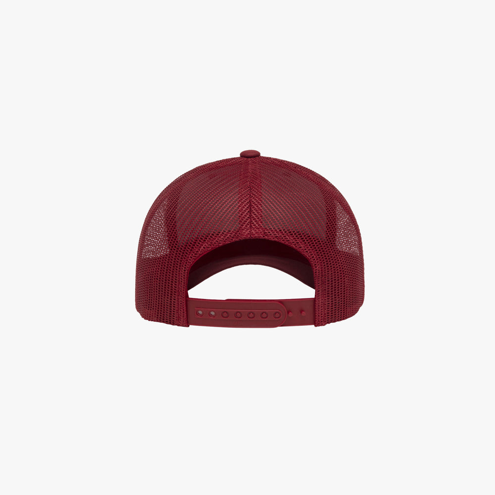 Retro Trucker Cap in Cranberry