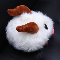 Adorable Snowball Monster Plush Doll