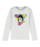 "T-Shirt Manche Longue Enfant ""Born to Be Rebel"""