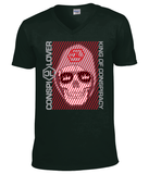 "T-Shirt Homme Col V ""King of Conspiracy"""