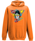 "Sweat Hoodie Enfant ""Born to Be Rebel"""