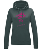 "Sweat Hoodie Femme ""Fucking System Rose"""