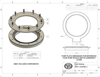 28001 GM/FORD OEM Pump Adapter Flange