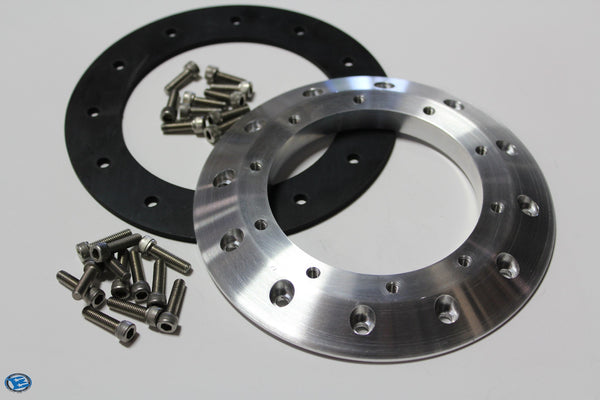 Boyd 12 Bolt EFI to Aeromotive 10 Bolt Stealth Adapter Plate