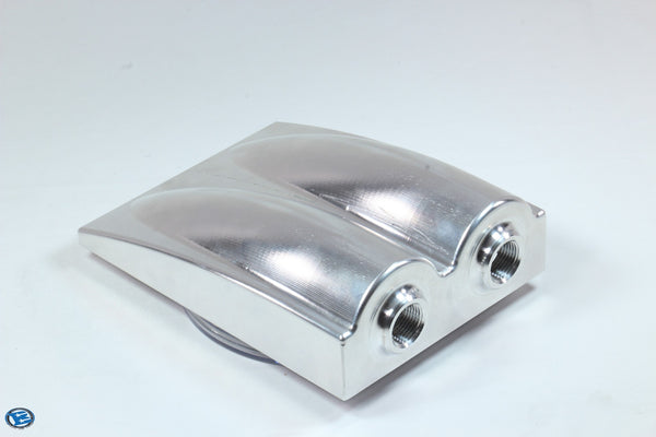 CNC Machined Billet 8 x 6 x 2 Sump 6061-T6 Aluminum
