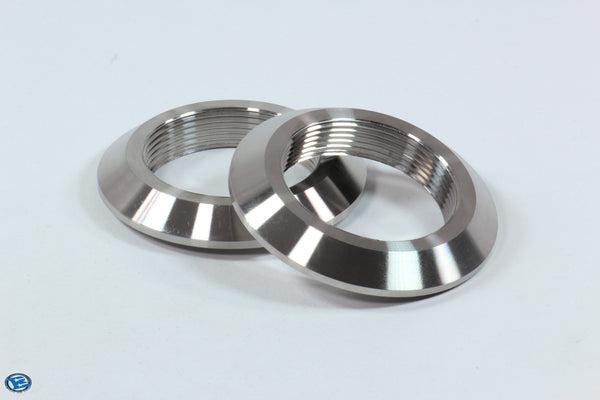 Stainless Steel Machined NPT Flanged Weld Bung