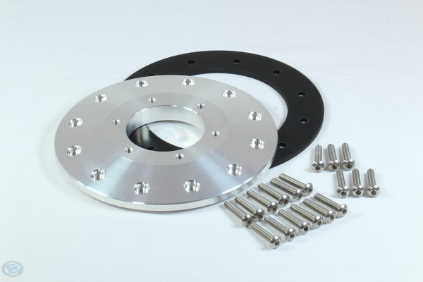 Boyd 12 Bolt EFI to HYPERFUEL 40015 6 Bolt Adapter Plate