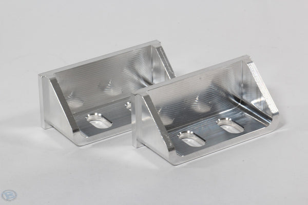 Billet 2x2 4inch long Mounting Tabs  4Pack