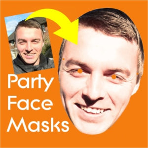 UKPARTYMASKS PARTY FACE MASKS