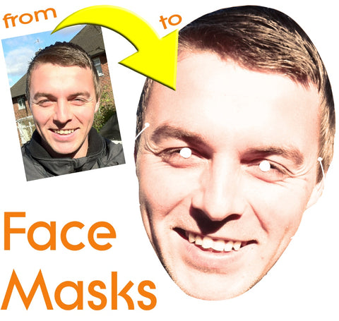 BIGface Masks from ukpartymasks