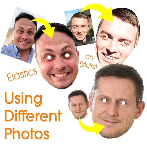 Using Differernt Faces