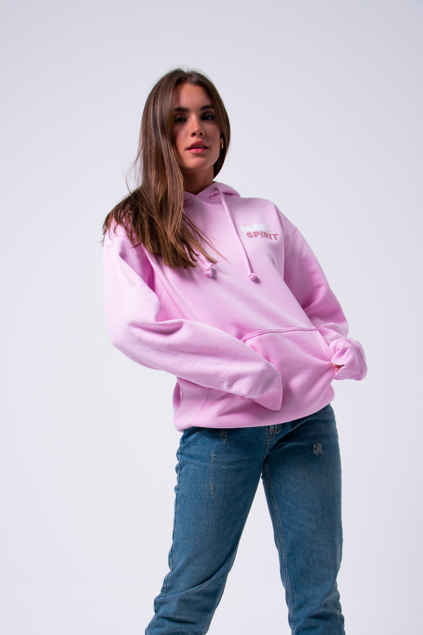 Classic Pullover - Light Pink