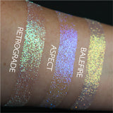 Retrograde Biodegradable Glitter | Shroud Cosmetics | Arcana