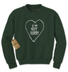 I'm Not Sorry Heart Adult Crewneck Sweatshirt