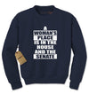 A Womans Place… Adult Crewneck Sweatshirt