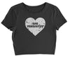 Heart Nevertheless, She Persisted  Cropped T-Shirt