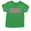 (Pink Print) Feminist Youth T-shirt