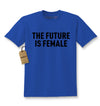 The Future Is Female (Black Print) Kids T-shirt