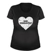 Heart Nevertheless, She Persisted  Maternity Pregnancy Scoop Neck T-Shirt