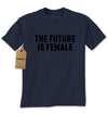 The Future Is Female (Black Print) Mens T-shirt