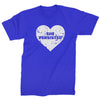 Heart Nevertheless, She Persisted  Mens T-shirt