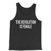 The Revolution Is Female Jersey Tank Top for Men