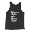 Women's Rights Are Human Rights Jersey Tank Top for Men