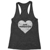 Heart Nevertheless, She Persisted  Racerback Tank Top for Women