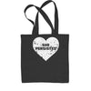Heart Nevertheless, She Persisted  Shopping Tote Bag