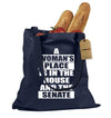 A Womans Place… Shopping Tote Bag