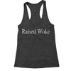 Raised Woke Racerback Tank Top for Women
