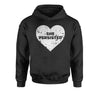 Heart Nevertheless, She Persisted  Youth-Sized Hoodie