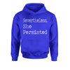 Nevertheless, She Persisted  Youth-Sized Hoodie