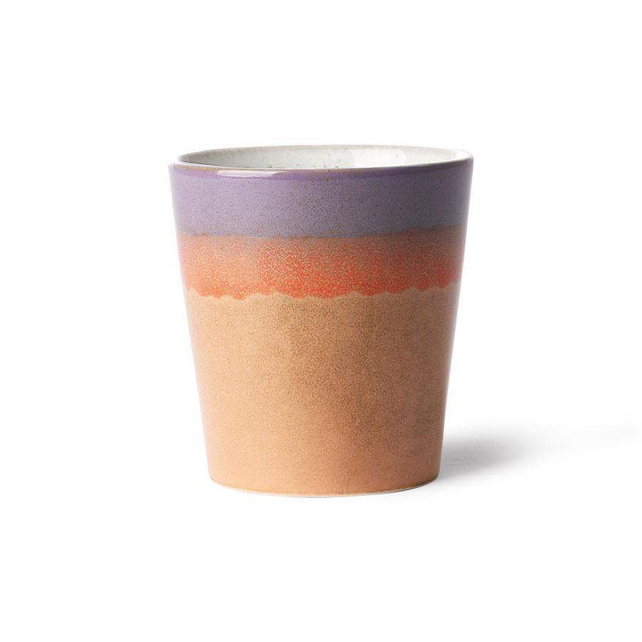 "HKliving 70's Keramik Becher ""Sunset"" - noord®"