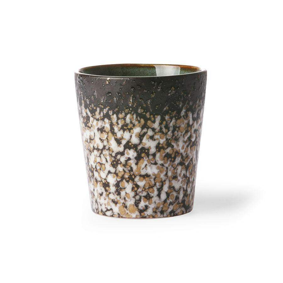 "HKliving 70's Keramik Becher ""Mud"" - noord®"