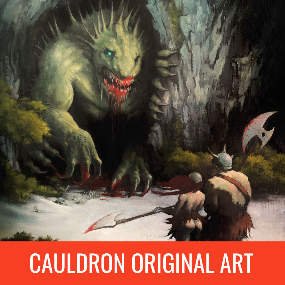 Casey Parsons Cauldron Original Art