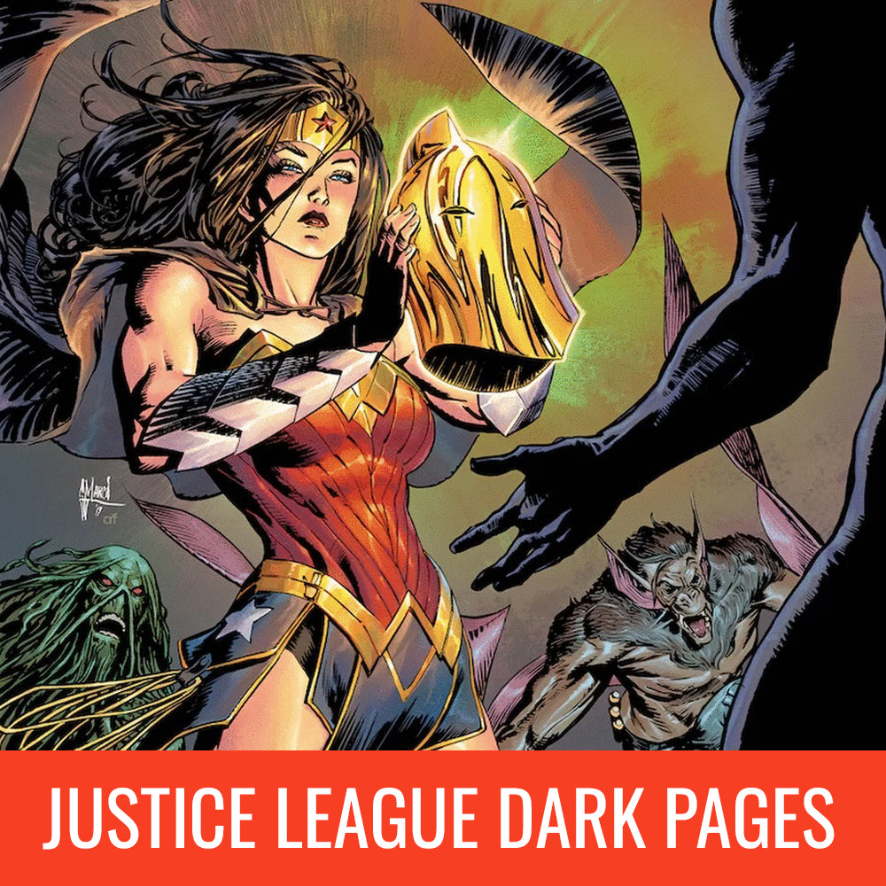 Guillem March Justice League Dark Pages